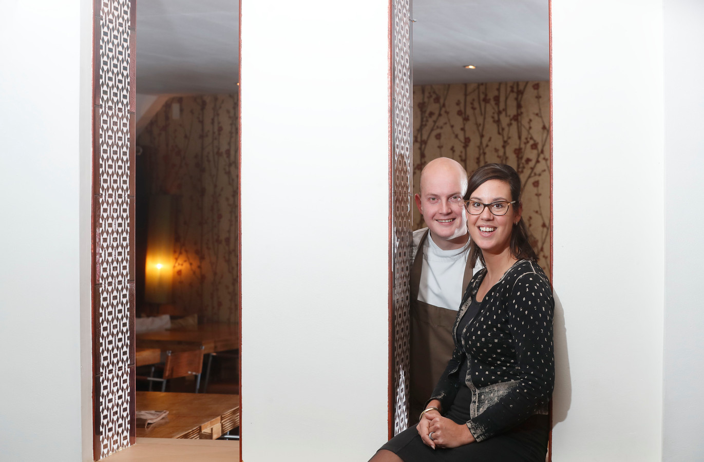 Anne Gregoor en Lars van Huenen van Drinks and Bites.