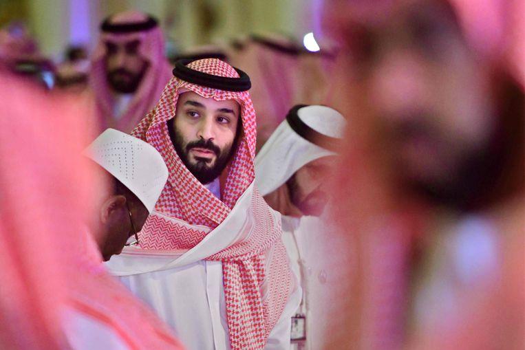 De Saudische kroonprins Mohammed bin Salman. Beeld AFP