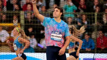 Philip Milanov bij eerste outdoorcompetitie meteen goed voor limiet EK atletiek