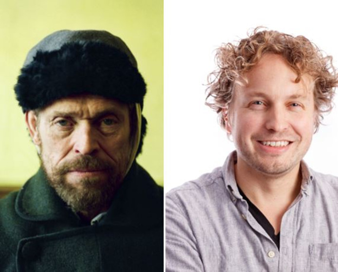 Willem Dafoe (links) speelt fenomenaal in At Eternity's Gate; toch verwacht columnist Niels Herijgens dat hij niet de Oscar voor beste acteur wint.