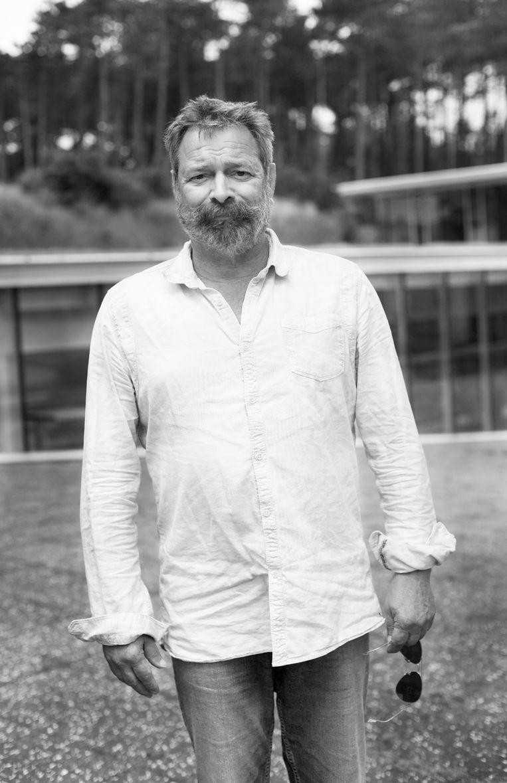 Joop Mulder, oprichter en creatief directeur van festival Oerol Beeld Mascha Jansen