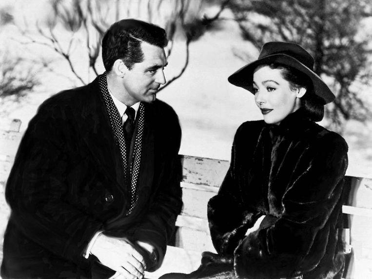 Cary Grant en Loretta Young in The Bishop's Wife van Henry Koster. Beeld