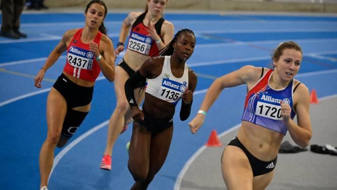 Hanne Maudens loopt snelle 400m op BK, maar EK met de 4x400m zit er wellicht niet in