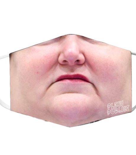Marc- en Maggie-mondmaskers van Antwerpse Plein Publiek brengen 4.045 euro op voor het goede doel