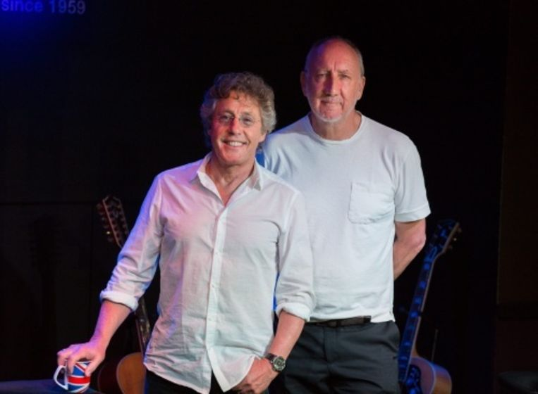 null Beeld Roger Daltrey (L) en Pete Townshend. EPA