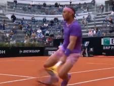 Rafael Nadal reageert woedend na val over 'te hoge witte lijnen': 'Het is ongelooflijk'