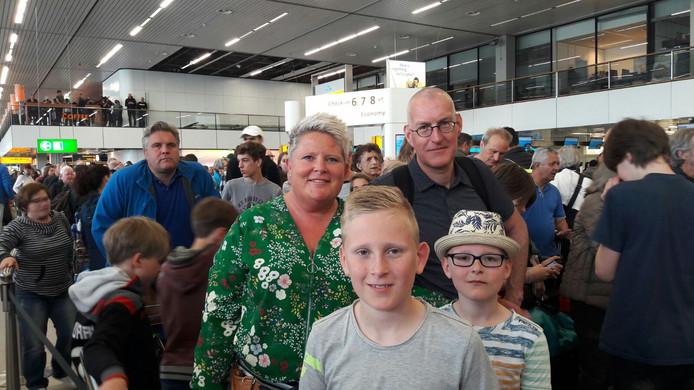 Het gezin uit Ermelo.