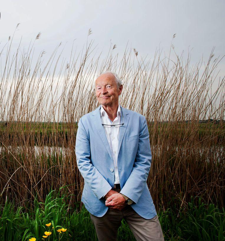 Schrijver Guus Kuijer. Beeld Hollandse Hoogte / Olaf Kraak Fotografie