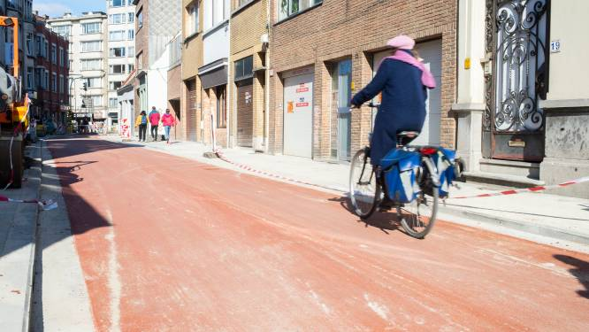 Dieven proberen fiets te stelen met slijpschijf en beitel