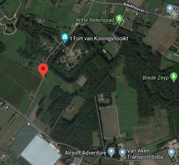 Het Bosmolenpad ligt tussen het fort van Koningshooikt, natuurgebied Brede Zeyp en de straten Beukheuvel en Donderheide.
