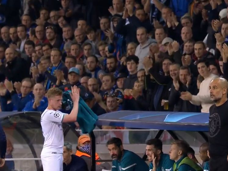 Wederzijds respect: Kevin De Bruyne krijgt staande ovatie en bedankt Brugs publiek