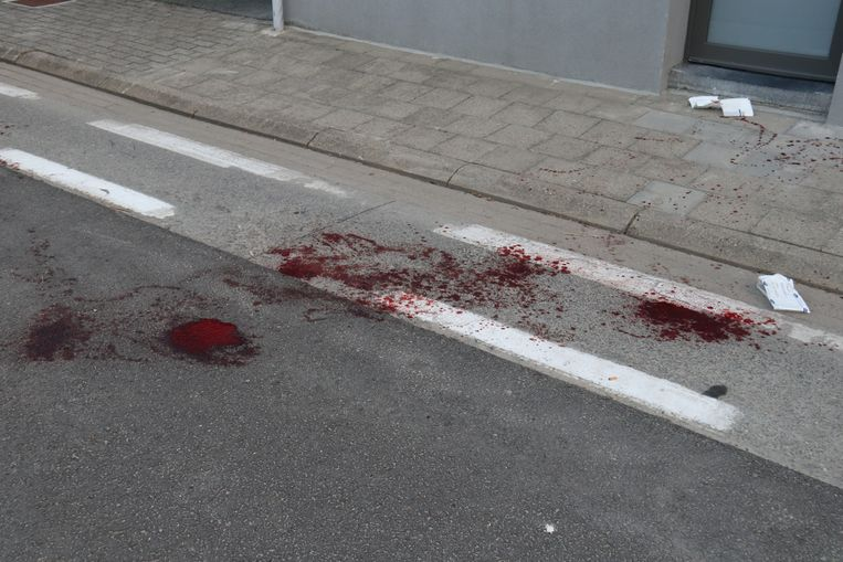 Het incident ging gepaard met heel wat bloedverlies.