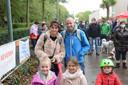 Bruno met zijn echtgenote en dochtertje tijdens de Tour of Hope-wandeling ten voordele van Levensloop. Hoewel al erg verzwakt door zijn ziekte, stond hij opnieuw klaar om geld in te zamelen voor Levensloop.