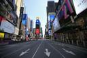 Autovrije straat in New York.