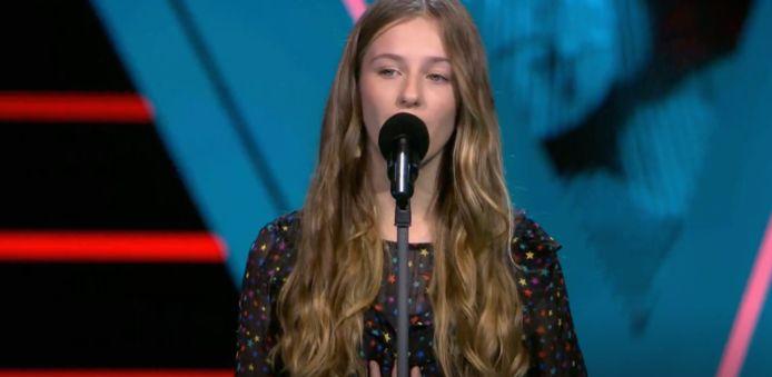 Lilia in The Voice Kids.