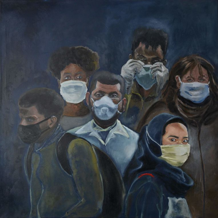 The Pandemic (2020) - Suzanne Harkho. Beeld Suzanne Harkho