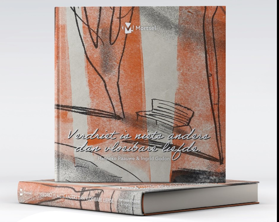 Het boek 'Verdriet is niets anders dan vloeibare liefde'
