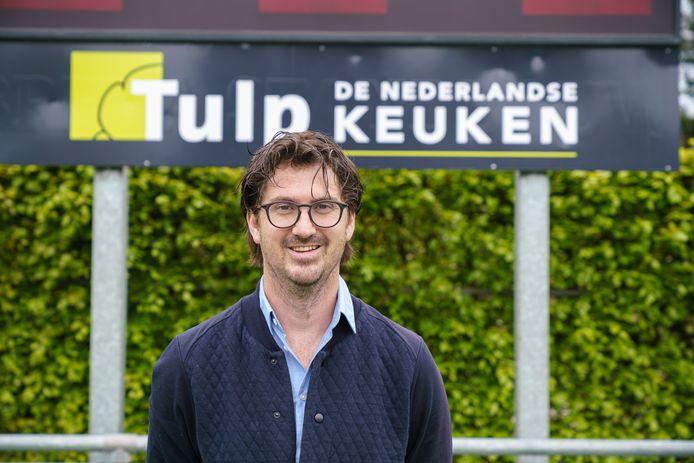 Pieter Bos, de nieuwe trainer van Zwart-Wit.