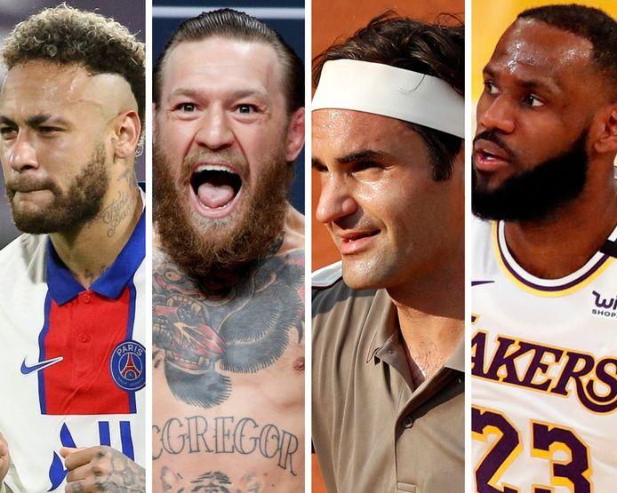 Voici les 10 sportifs le mieuxs payés au monde en 2020.