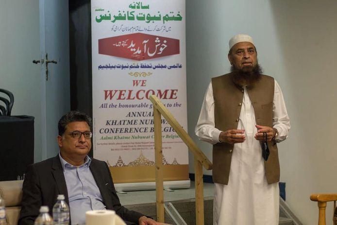 Het centrum van de  jihadbeweging Khatme Nubuwwat in Antwerpen waar volgens gewezen moslim Peter Velle jongeren worden geronseld voor de taliban.