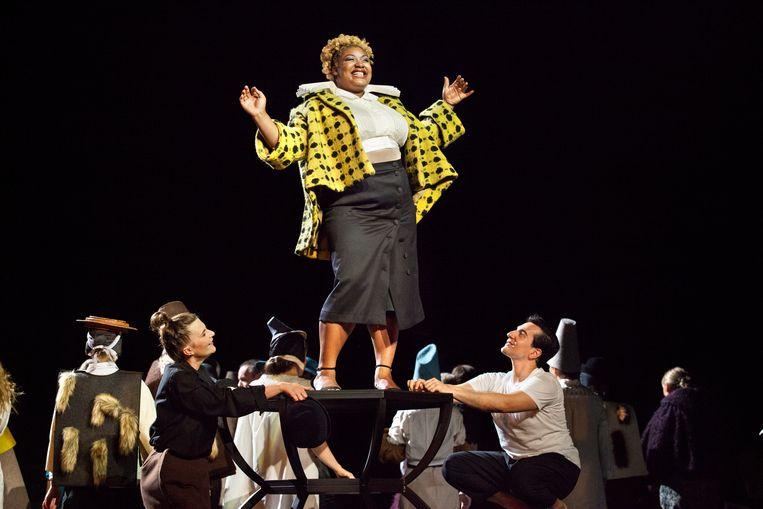 'Don Carlos', vorig jaar te zien in Opera Vlaanderen. Stuer: 'Het hele genie van Verdi stond aan de kant van de machtelozen.' Beeld Annemie Augustijns