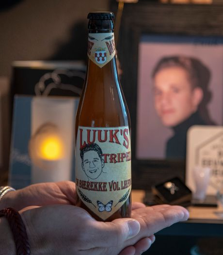 Een tripel ter nagedachtenis aan Luuk: 'Én bierekke vol liefde'