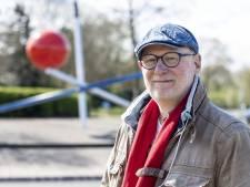 Bert Meinen zet dikke punt in Hengelo met rotondekunstwerk bij Slangenbeek