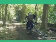 Le robot Atlas s'offre une petite balade en forêt