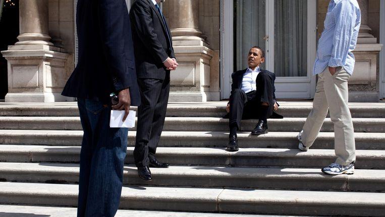 Wat heeft de president de afgelopen acht jaar gedaan? Beeld Pete Souza / The White House