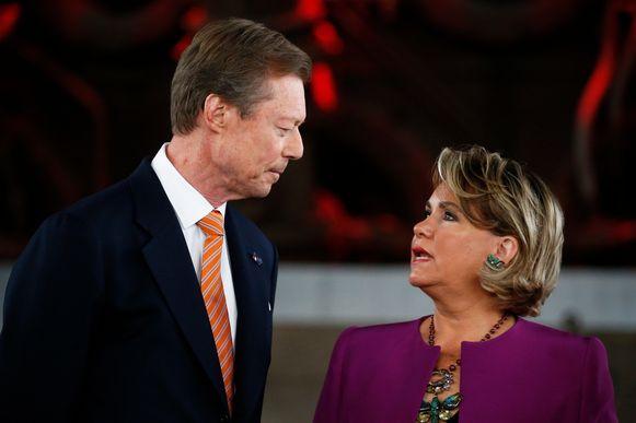 Groothertog Henri blijft zijn echtgenote onvoorwaardelijk steunen.