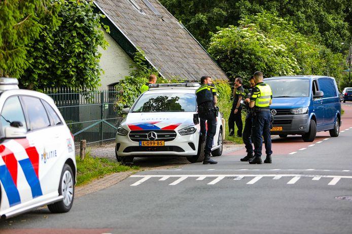 Het onderzoek afgelopen zondag in Beekbergen.