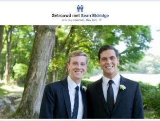 Facebook voegt nieuw icoon toe voor getrouwde homostellen