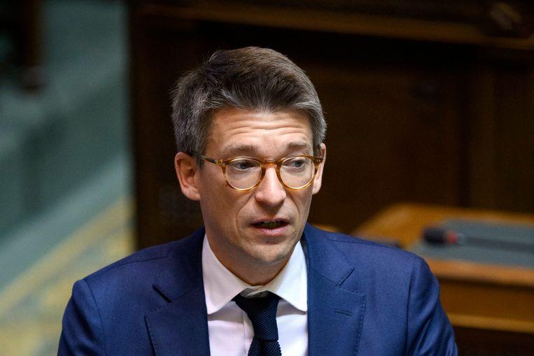 Minister van Werk Pierre-Yves Dermagne (PS) kondigde de elektronische registratie eerder deze week aan. Beeld Photo News