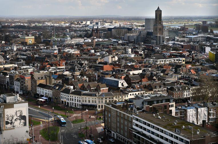 De binnenstad van Arnhem. Yago R. bracht zijn jeugd door in de Gelderse hoofdstad. Beeld Marcel van den Bergh