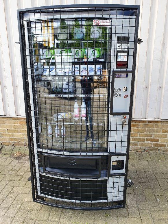 De automaten van TW Service.