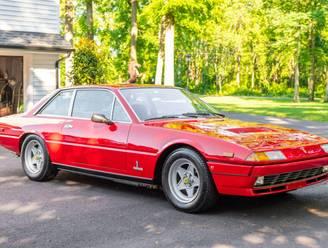 Zeldzame gestolen Ferrari razendsnel terug bij eigenaar na oproep op sociale media
