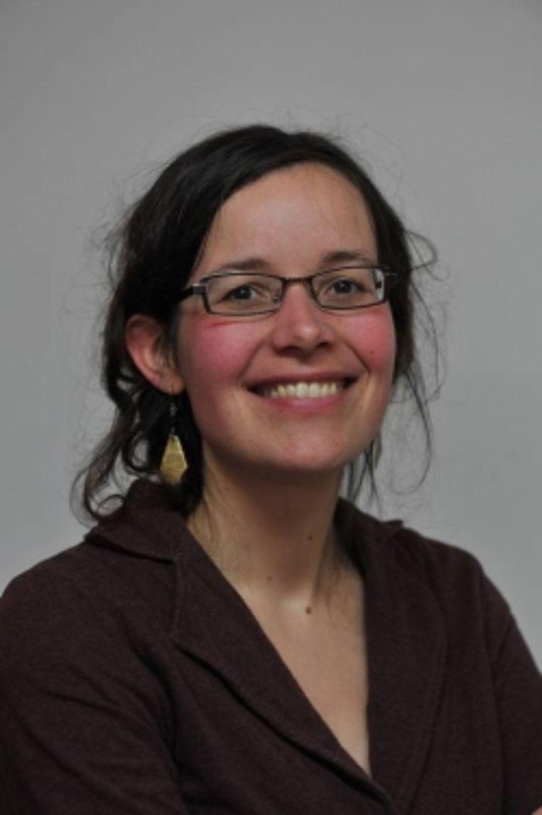 Lise Vandecasteele. Beeld rv