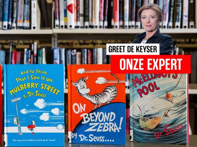 """Greet De Keyser in de VS: """"Boeken van Dr. Seuss niet meer gedrukt na racismeklachten"""""""