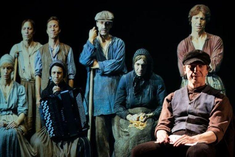 'Het gezin Van Paemel', met Valentijn Dhaenens in de hoofdrol(len). Beeld Skagen