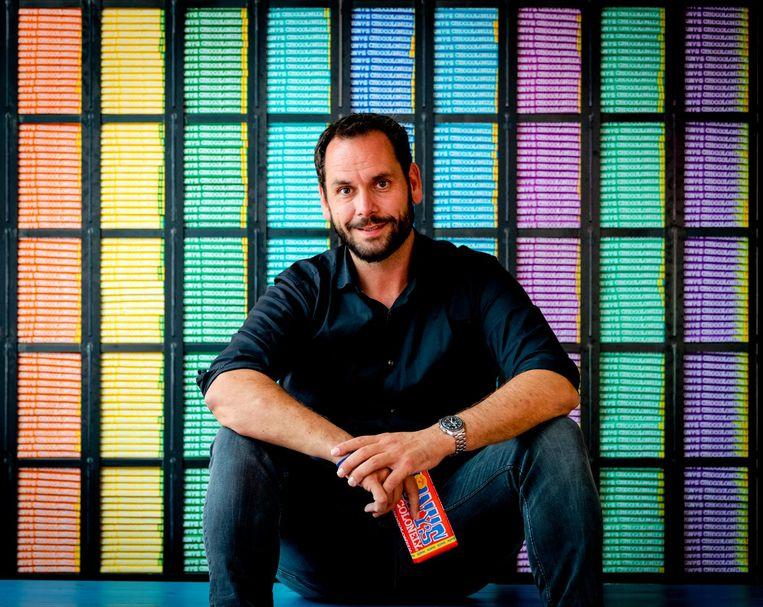 Tony's Chocolonely directeur Henk-Jan Beltman.  Beeld ANP