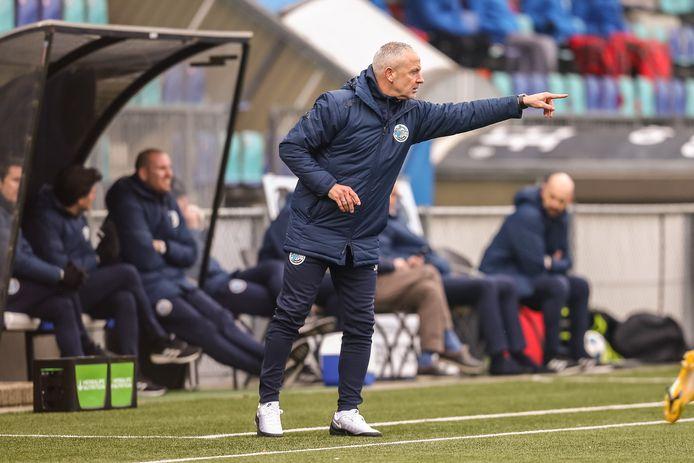 Coach Jack de Gier van FC Den Bosch is niet rouwig om de afgelasting van de uitwedstrijd tegen NEC.