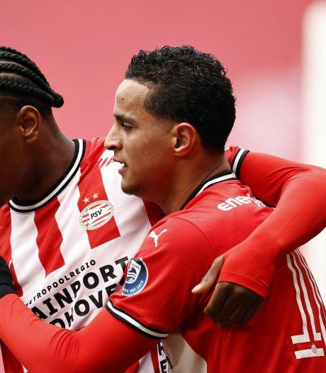 PSV neemt tweede plek weer over van AZ na simpele zege op Heracles