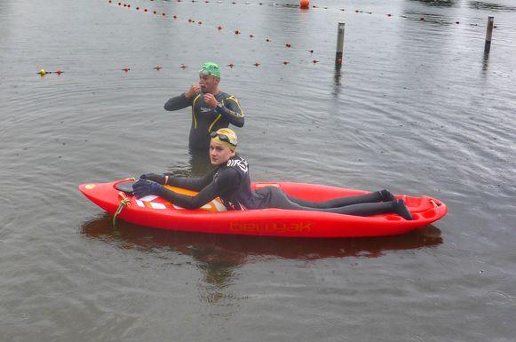 Johannes en Nico oefenen al volop voor hun uitdaging.