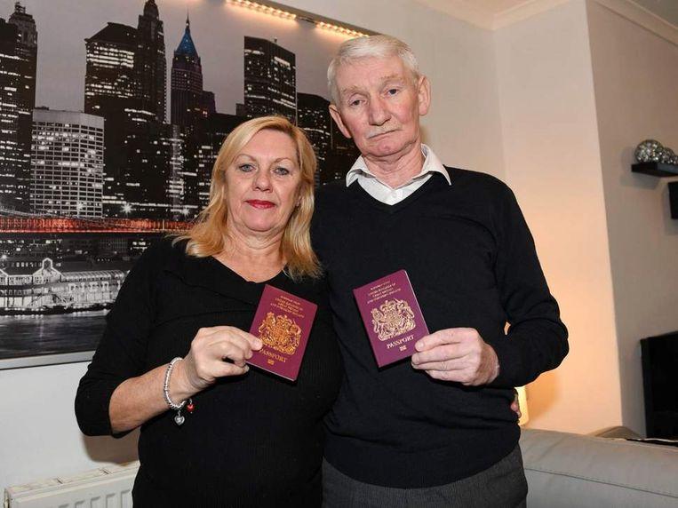 'Terrorist' John Stevenson (70) en zijn vrouw Marion.
