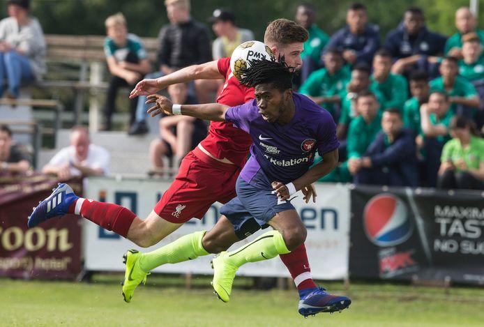 FC Liverpool (links) en FC Midtjylland namen deel aan het laatste Terborg-toernooi in 2019.