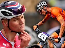 Mathieu van der Poel is wel even klaar met de racefiets