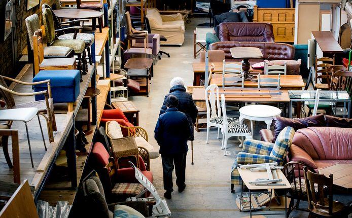 Een kringloopwinkel, foto ter illustratie.