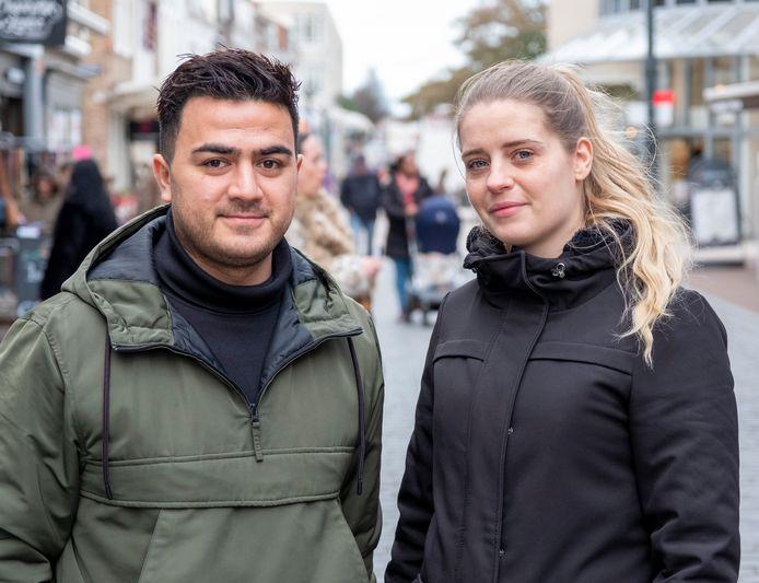 Farid Qaridzadeh en Rowena Beije uit Vlissingen