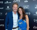 Sandra Bekkari en haar man Peter Craeymeersch