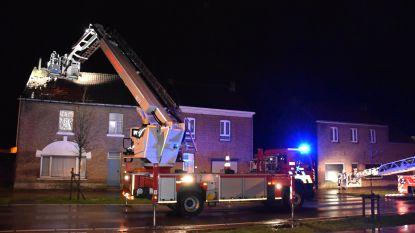 Windhoos beschadigt zeven huizen in Veldwezelt